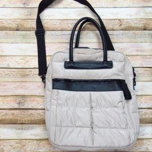 Padded Tan Laptop Bag